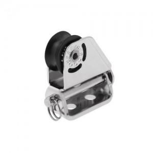 Micro XS upright block ball bearing 6mm - 1 sheave