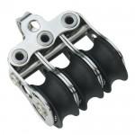 Micro XS block ball bearing 6mm - 3 sheaves, bow