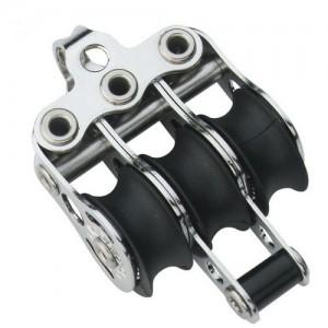 Micro XS block ball bearing 6mm - 3 sheaves, bow, becket