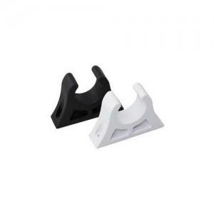 Spring Clips for 25mm Oars, white plastic - 2 pcs.