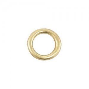 Polished Brass Ring 4x16x24 mm