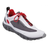 """Deck shoes """"Team Pro Tec"""" white/red"""