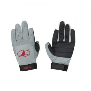 "Gloves ""Harken"" long fingers, gray"