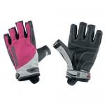 "Gloves ""Spectrum"" 3/4 fingers, pink"