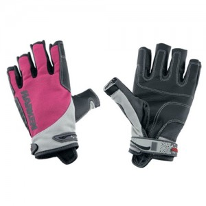 "Gloves ""Spectrum"" 3/4 fingers, pink"