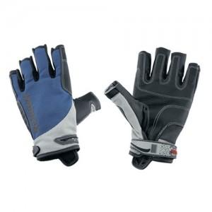 "Kids gloves ""Spectrum"" 3/4 fingers, blue"