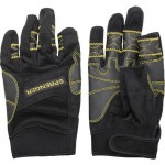 "Gloves ""Sprenger"" Amara long fingers, black"