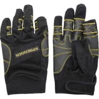 """Gloves """"Sprenger"""" Amara long fingers, black"""
