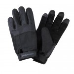"Gloves ""Sprenger"" long fingers, black"
