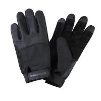 """Gloves """"Sprenger"""" long fingers, black"""
