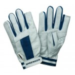 "Gloves ""Sprenger"" long fingers, blue"