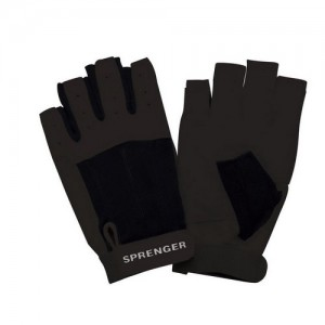 "Gloves ""Sprenger"" short fingers, black"