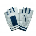 "Gloves ""Sprenger"" short fingers, blue"