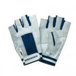 """Gloves """"Sprenger"""" short fingers, blue"""