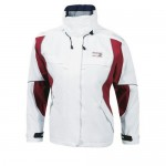 "Sailing Jacket ""Inshore Lady"" white/red"