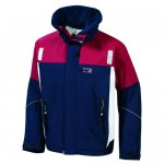 "Sailing Jacket ""Inshore"" navy/red/white"