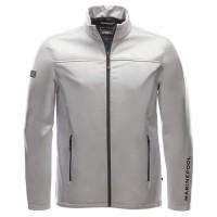 "Men's Jacket ""Crew Softshell"" silver"