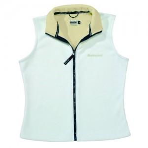 """Women's Fleece Vest """"Calgary II"""" white"""