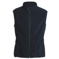 """Women's Fleece Vest """"Calgary II"""" navy"""