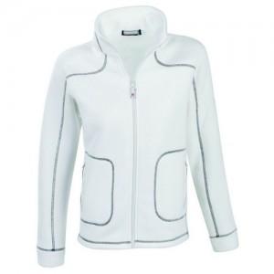 "Women's Fleece Jacket ""Lillehammer"" white"