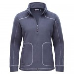 "Women's Fleece Jacket ""Lillehammer"" dark grey"