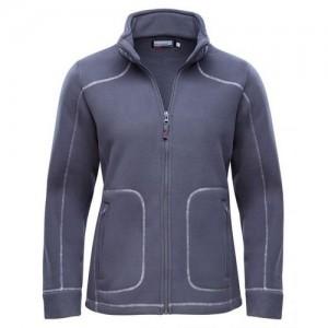 "Women's Fleece Jacket ""Lillehammer"" dark grey"