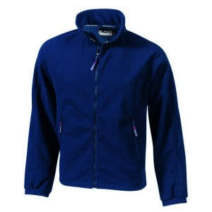 """Fleece Jacket """"Lausanne"""" w/ membrane, navy"""