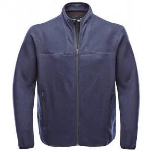"""Fleece Jacket """"Orion II Tec Wool"""" black/grey"""