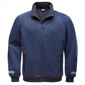 "Softshell Jacket ""Crew Blouson"" navy"