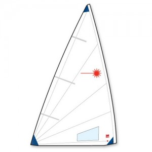 Laser Radial Buttoned Sail