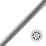 Steel Wire Rope 1x19 Viadana