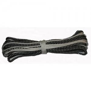 Spinnaker sheet for 470 - tapered, black/white