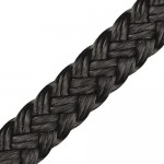 "Polyester Rope ""Multi Black"" Ø 1mm"