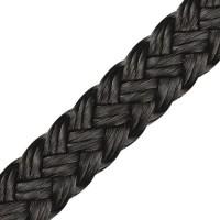 "Polyester Rope ""Multi Black"" Ø 1mm"