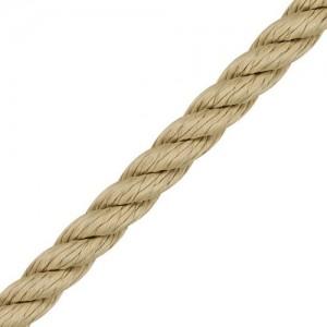 "Polypropylene Rope ""Lirolen"" 3-strand, natural"