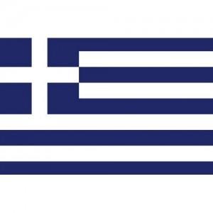 Flag Greece 20x30cm printed