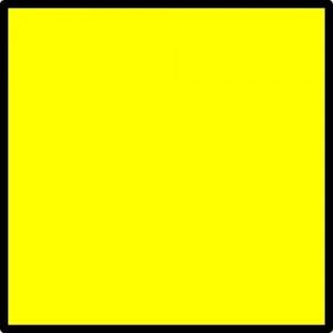 Flag Quebec (quarantine/customs) 30x45cm
