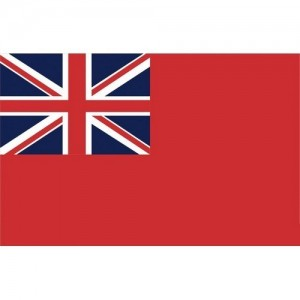 Red Ensign 20x30cm printed