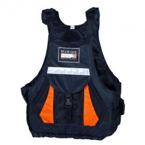 "Lifejacket ""Expedition Kayak PE ISO"" black/orange"