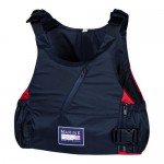 "Lifejacket ""Titanium PE ISO"" black/red"