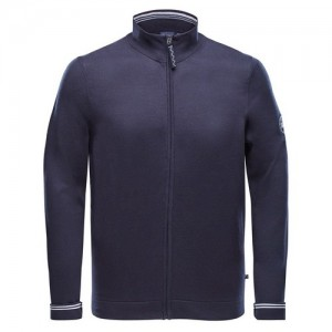"Men's Cardigan ""Ole"" navy"