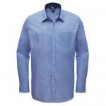 """Men's Shirt """"Albin"""" white/navy striped"""