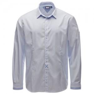 "Men's Shirt ""Joshua"" white/lt. blue"