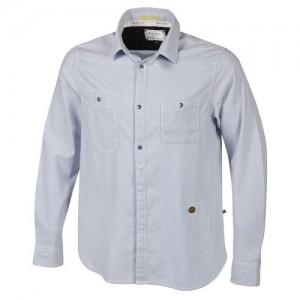 """Men's Shirt """"RR Breton"""" lt. blue/white"""