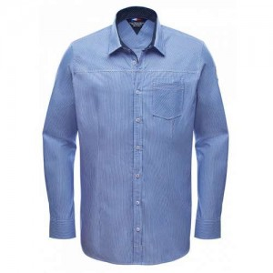 """Men's Shirt """"RR Sailing Aldrin"""" white/navy"""