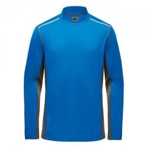 "Longsleeve Polo ""Helston Tec"" blue"