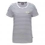 "Women's T-Shirt ""RR Agnes"" navy/white striped"