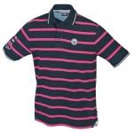 "Men's Polo ""Carl"" navy/pink"