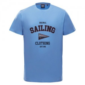"Men's T-Shirt ""Neil"" lt. blue"