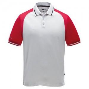 """Polo """"Speed Promo"""" white/red"""
